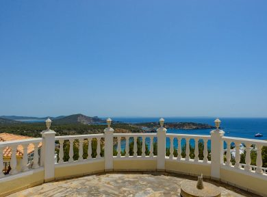 Ibiza Real Estate Solana Villa For Sale In Es Cubells Ibiza VC 108 51