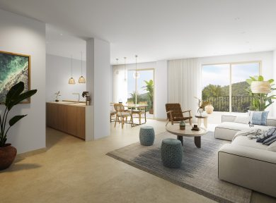 New Apartments Real Estate Promotion Apartments For Sale In Santa Eulalia Ibiza, promoción inmobiliaria en Santa Eulalia