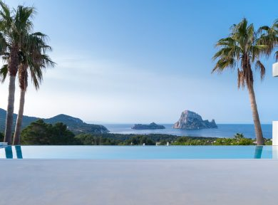 4 bedroom villa vith view to Es Vedra for sale in San Jose, ibiza