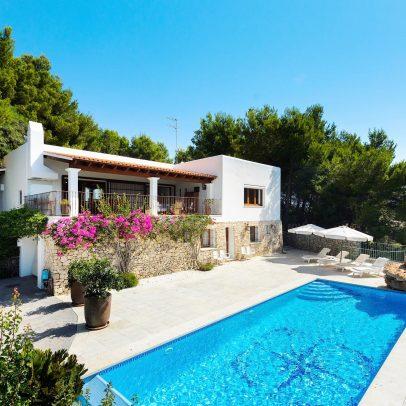 Solana Ibiza Rustic Villa For Sale in Santa Eulalia Ibiza