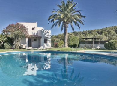 5 Bedroom Finca For Sale In Santa Gertrudis By Solana Ibiza Real Estate 1
