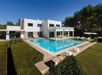 Contemporary 5 bedroom villa for sale in Santa Eulalia, Ibiza