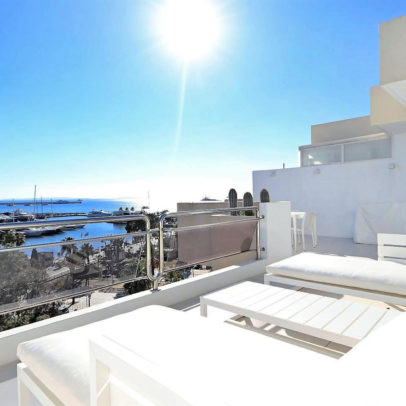 Duplex penthouse for sale in Ibiza by Solana Ibiza Real Estate