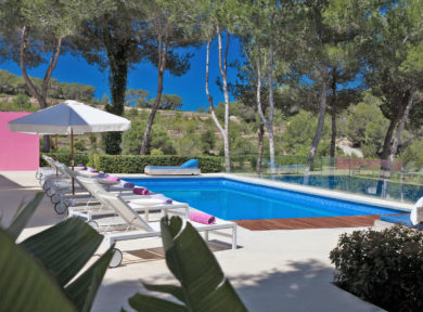 6 Bedroom Modern Villa Summer Rental In San Agusti, Ibiza By Solana Ibiza Real Estate 41