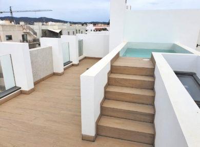 Duplex penthouse for sale in Jesus Ibiza