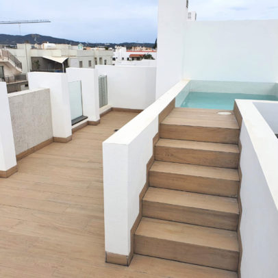 Duplex penthouse for sale in Jesus Ibiza