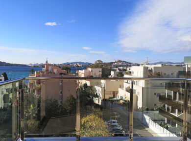 3 bedroom penthouse for rent in Talamanca Ibiza