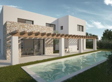 Inmobiliaria Ibiza Real Estate New Built Villa For Sale In Ibiza 2