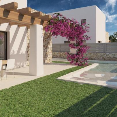 Inmobiliaria Ibiza Real Estate New Built Villa For Sale In Ibiza 3