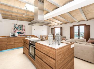 Inmobiliaria Ibiza Real Estate Refurbished Apartment For Sale In La Marina Ibiza 1